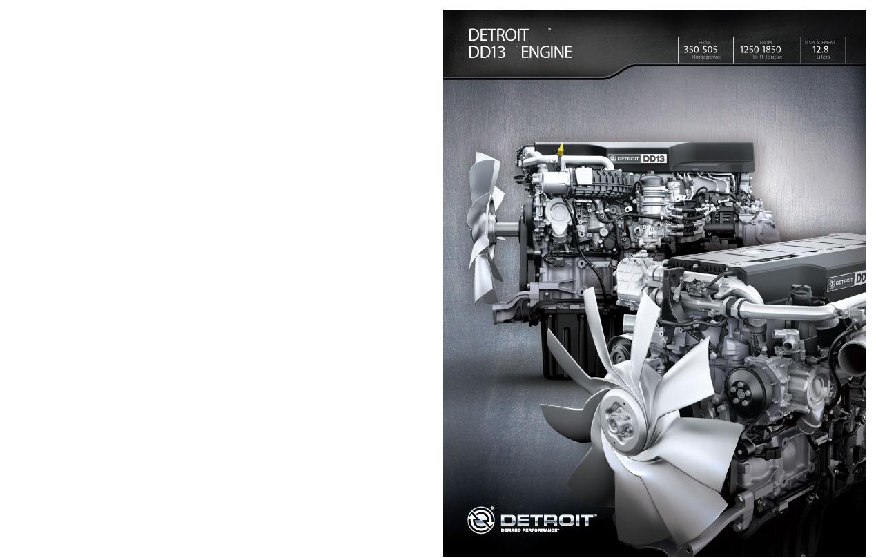 Freightliner Detroit Diesel DD13 Engine Brochure