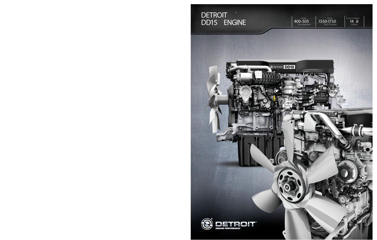 Freightliner Detroit Diesel DD15 Engine Brochure - Velocity Truck Centers