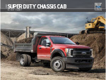 Ford Cab and Chassis (F350. F450, F550) Truck Brochure