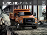 Ford Cab and Chassis (F650, F750) Brochure