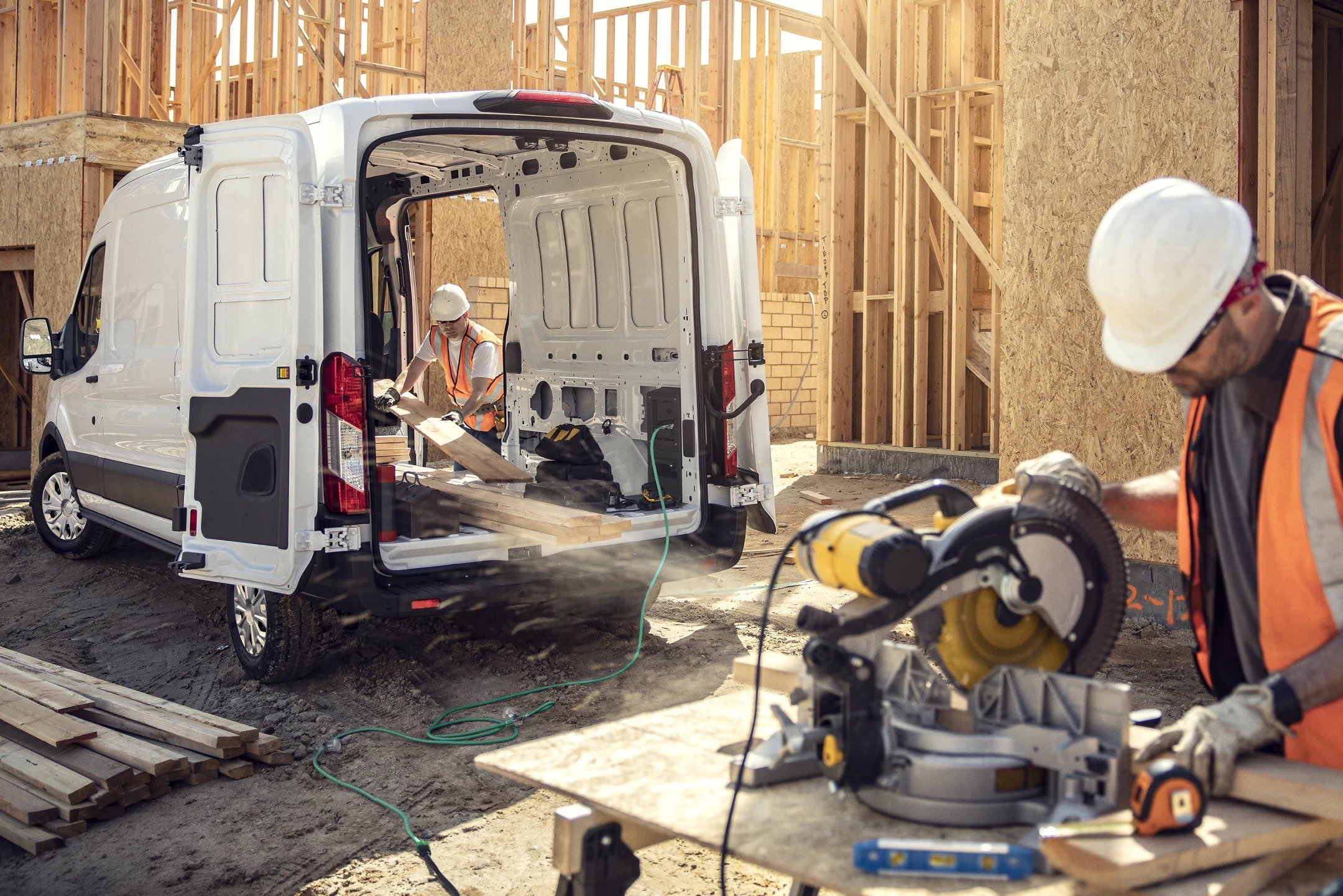 2022 Ford E-Transit Electric Cargo Van