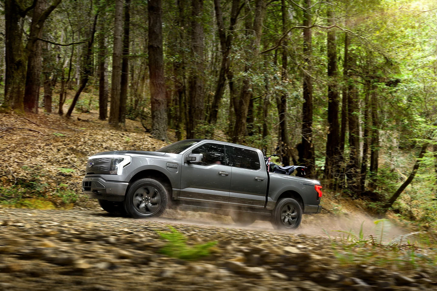 All electric offroad Ford Pick Up 4x4