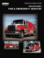 Freightliner 114SD Fire Truck Brochure