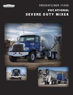 Freightliner 114SD Mixer Truck Brochure