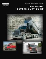 Freightliner 122SD Dump Truck Brochure