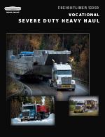 Freightliner 122SD Heavy Haul Truck Brochure