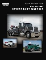 Freightliner 122SD Wrecker Truck Brochure