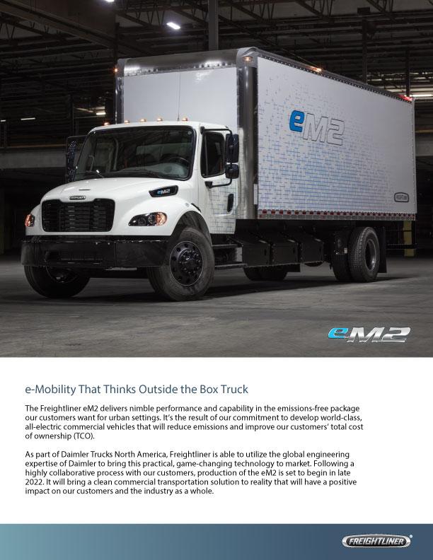 Freightliner eM2brochure