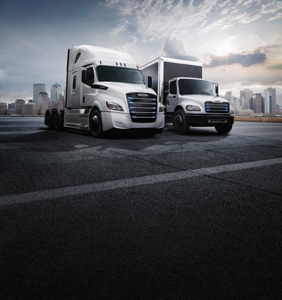 Freightliner eCascadia