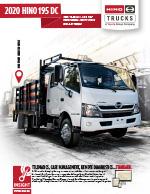 Hino 195-DC COE Truck Brochure