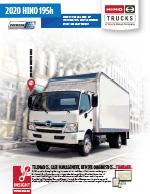 Hino 195H Hybrid Electric COE Brochure