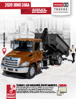 Hino 268A Brochure