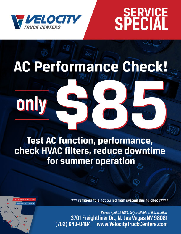 A/C Performance Check Special in Las Vegas