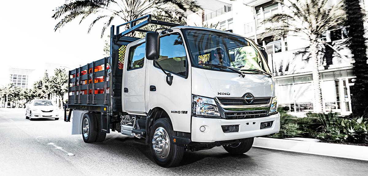 Hino COE 155-dc Truck