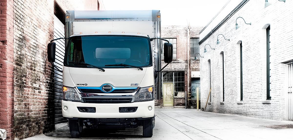 Hino COE 195h Truck