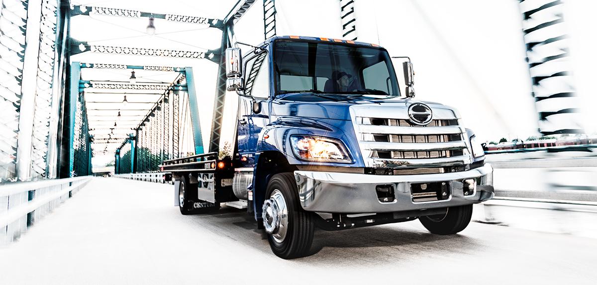 Hino 258 ALP Truck
