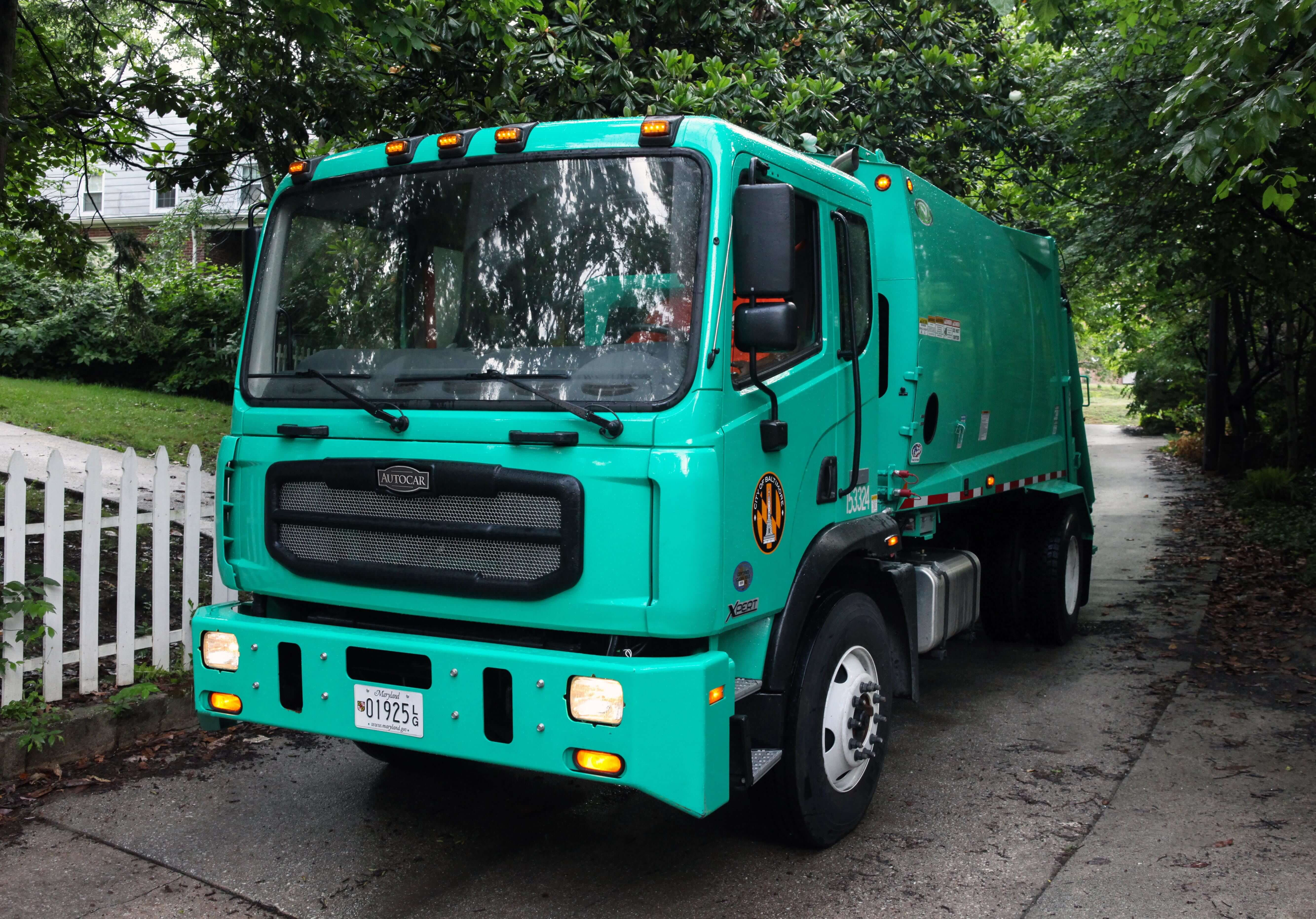 Autocar ACMD 2016 muni baltimore Truck