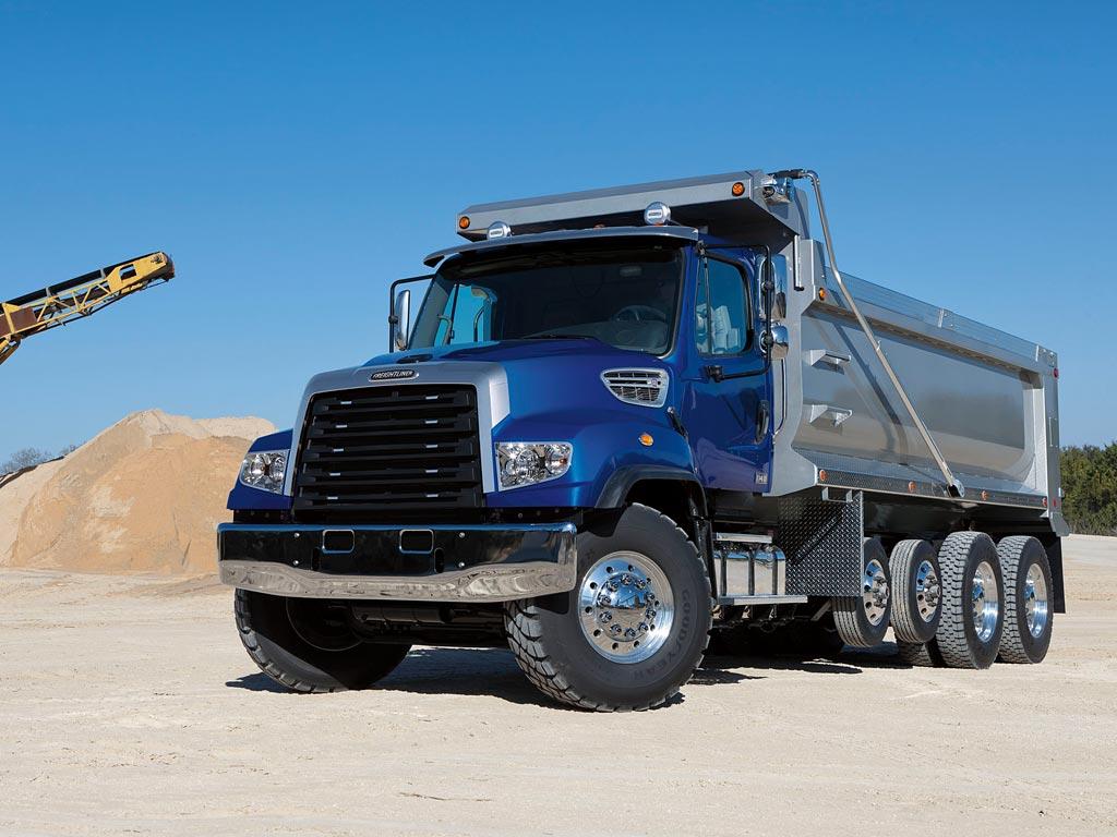 Freightliner 114sd - Dump Trucks