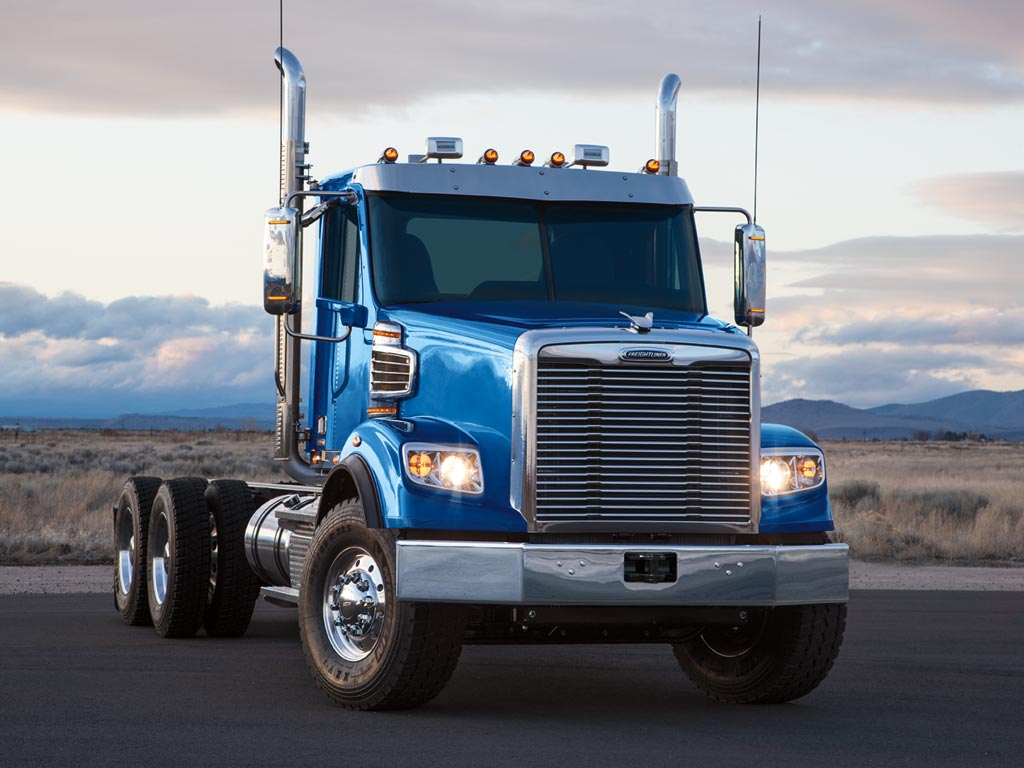 Freightliner 122SD Cab Truck