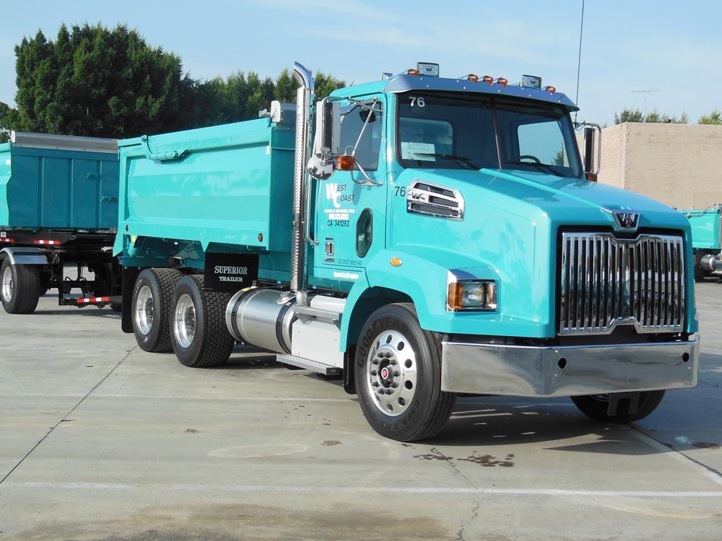 Western Star 4700 Transfer Truck