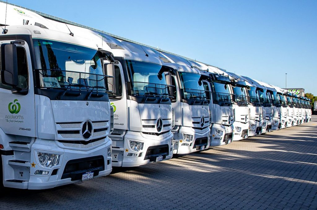 Velocity opens Daimler account with huge Goldstar Transport order