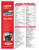 Crane Carrier LDT2 Truck Specs