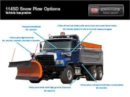 Freightliner 114SD Snow Plow Truck Brochure
