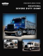 Freightliner 114SD Dump Truck Brochure