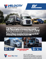 Freightliner Cascadia Electric Truck - Velocity Truck Centers