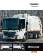 Freightliner chassis Econic SD Sell Sheet Brochure