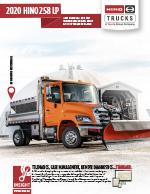 HIno 258 LP Truck Brochure