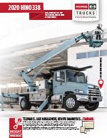 Hino 338 Truck Brochure