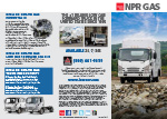 ISUZU N-Series  Gas Truck Brochure