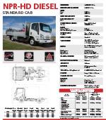 ISUZU N-Series Diesel Truck Brochure