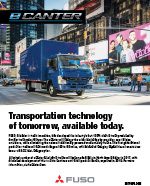 Mitsubishi Fuso eCanter (electric truck) Brochure