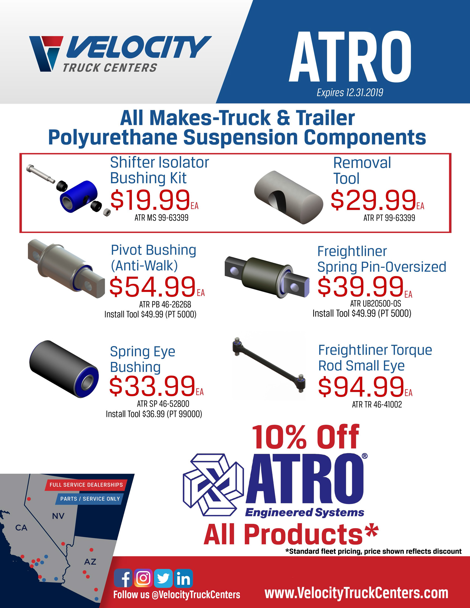 ATRO Parts for Sale At Velocity Truck Centers