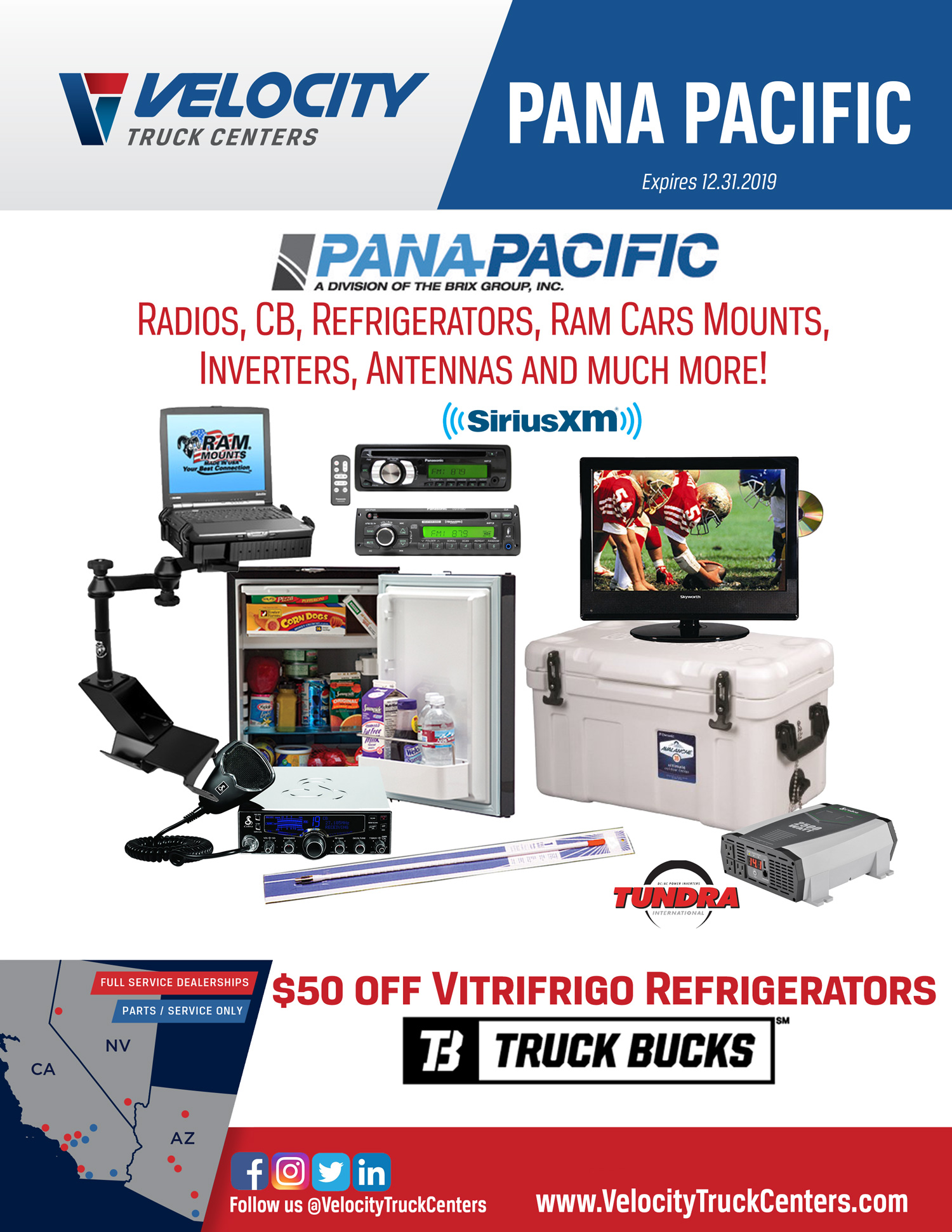 Pana Pacific Parts for Sale at Velocity Truck Centers
