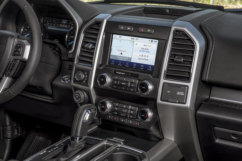 2020 Ford F-150 Truck interio-Lariat