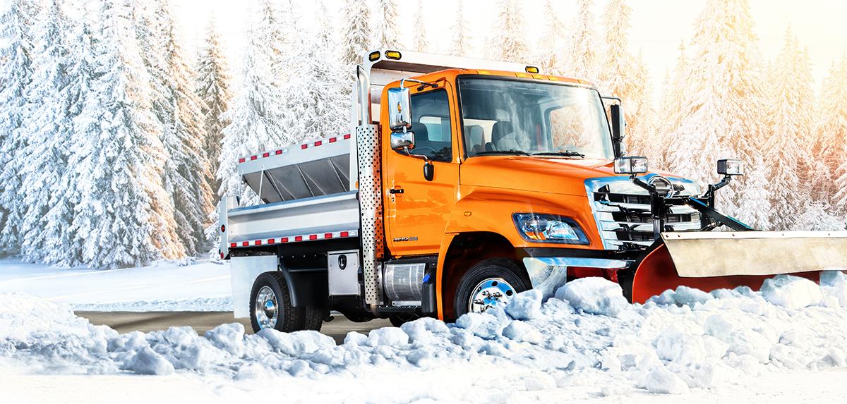 Hino 258 LP Truck