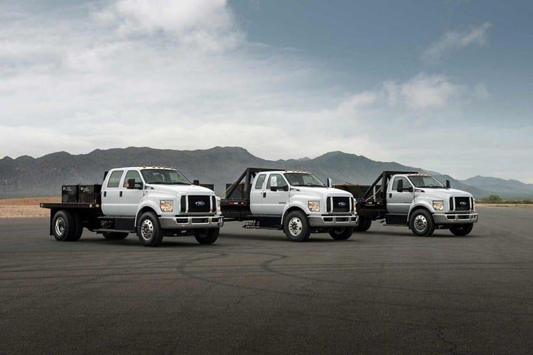 Service Body Trucks - Ford F750 Truck