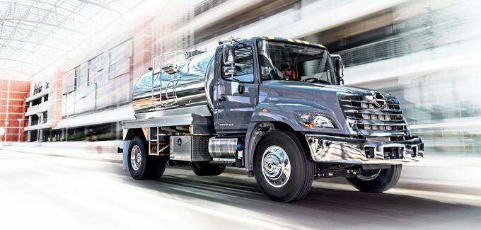 Hino 268 Truck