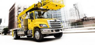 Hino 338 Truck