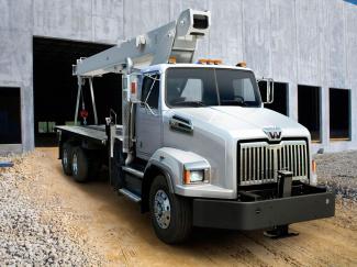 Western Star 4700 Crane Truck