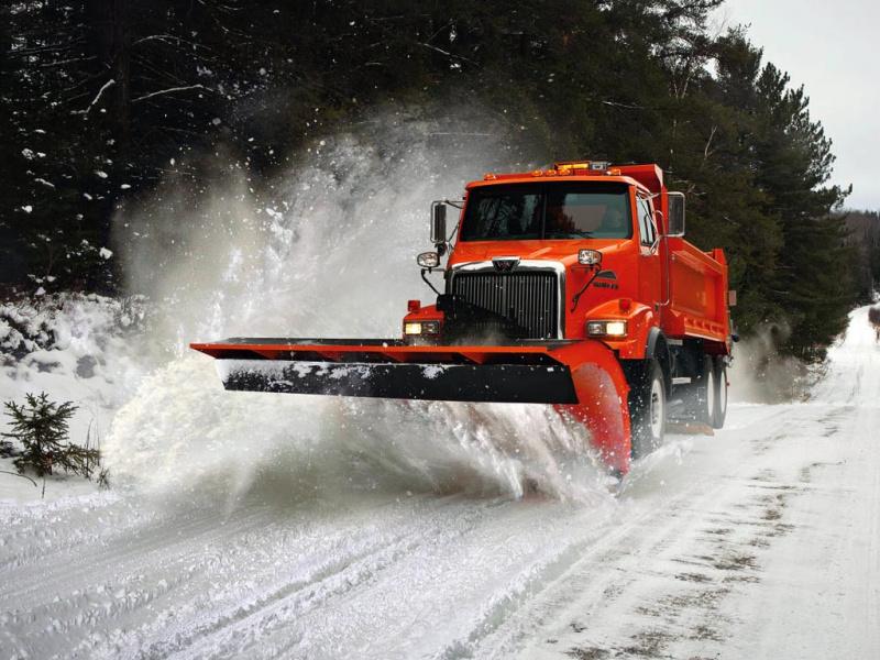 Western Star 4800 snow plow Trucks