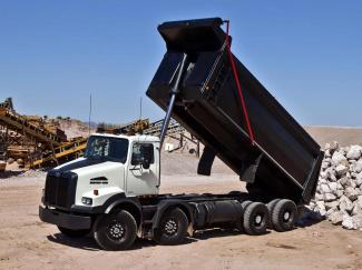 Mining Trucks - Western Star 4800 Dump Truck