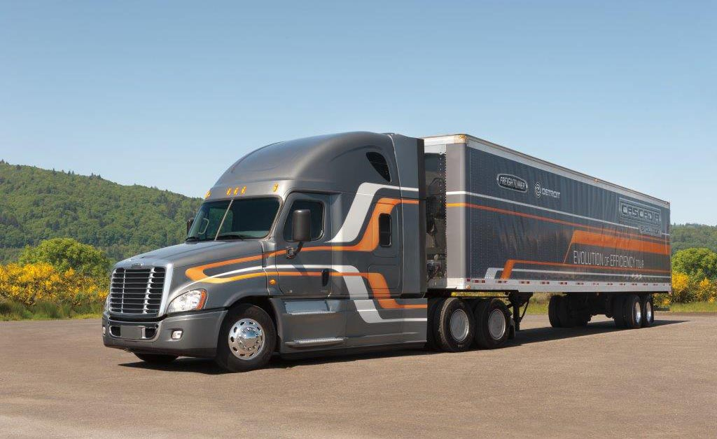 cascadia evolution trucks