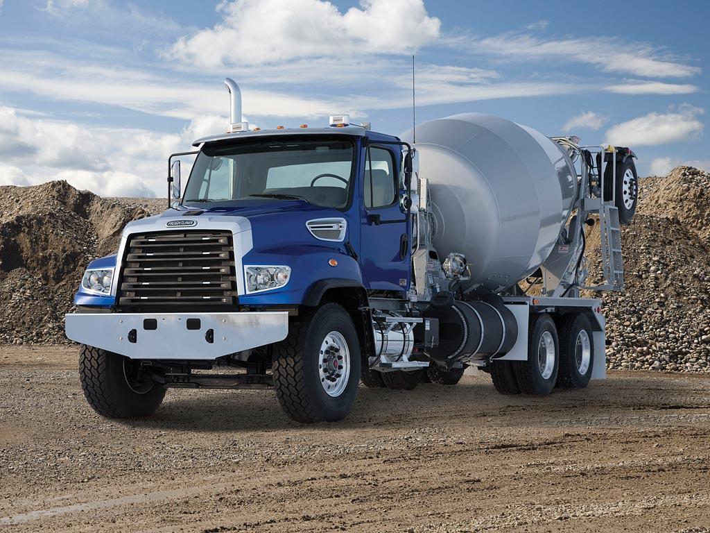 freightliner 114sd mixer truck